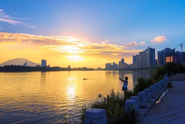"""记者手记:好一个生态之城,绿水青山里感受漳州人的""""慢""""生活"""