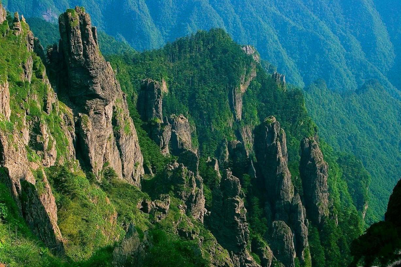 中国未解之谜发源的地方,神秘的湖北神农架原始森林图片