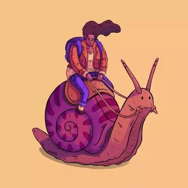 巴西自由插画家lucas wakamatsu|玩转色彩,带你感受色彩的精彩魅力