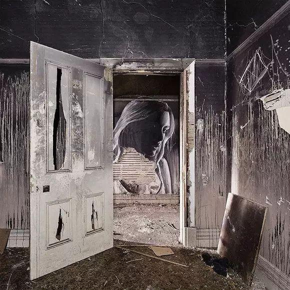 农村人体艺术家_艺术家竟把一个个美女人体留在了废墟里.