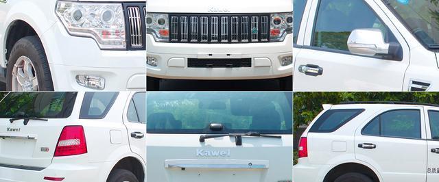 美式硬派风格,最像新能源汽车纯电动汽车