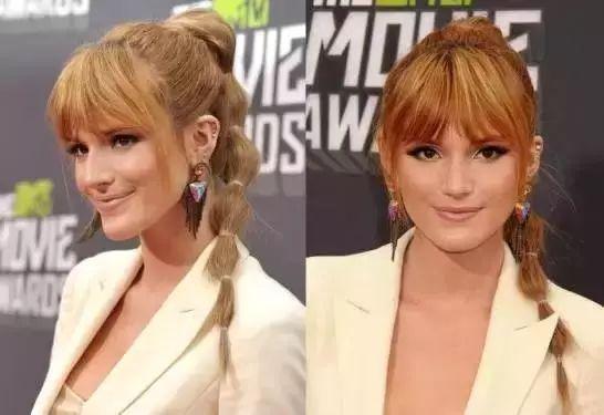 女星诠释不一样的马尾辫扎发图片