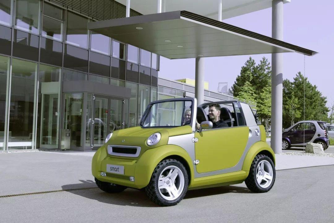 转型为新能源车企?!简述Smart二十周年发展历程