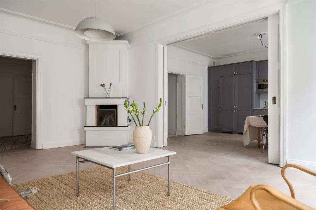 海岸分享 | 北欧复古风的软装,客厅布置成这样,一辈子图片