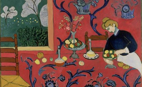 马蒂斯《红房子》1908 布面油画 180x220cm图片