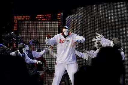"""NBA5种经典面具哪种辨识度高?奥尼尔也戴过,科比佩戴""""蝙蝠侠"""""""