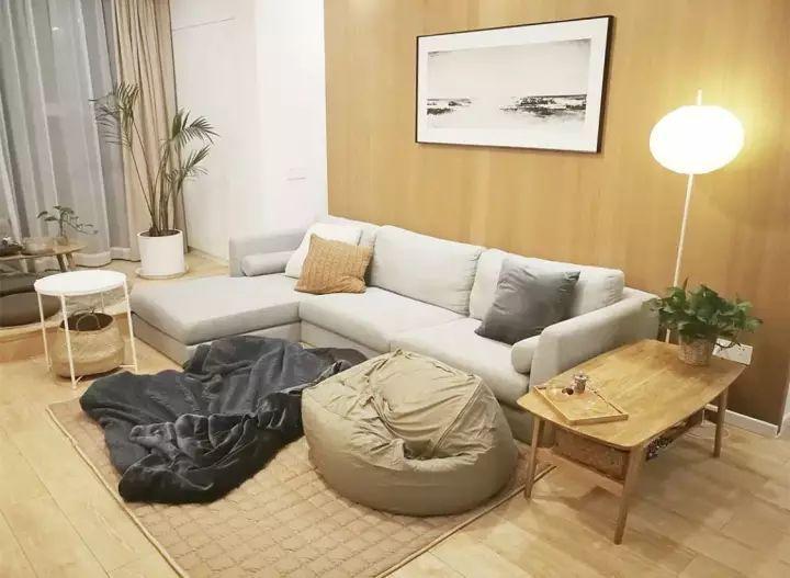 这些l型的沙发设计,你觉得是否适合小户型客厅呢?图片