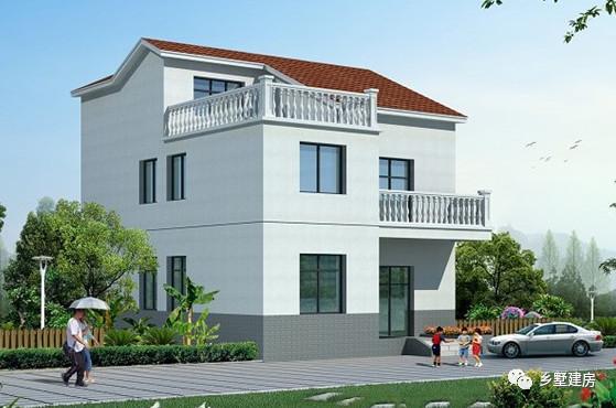 二层别墅设计图纸农村自建房图纸