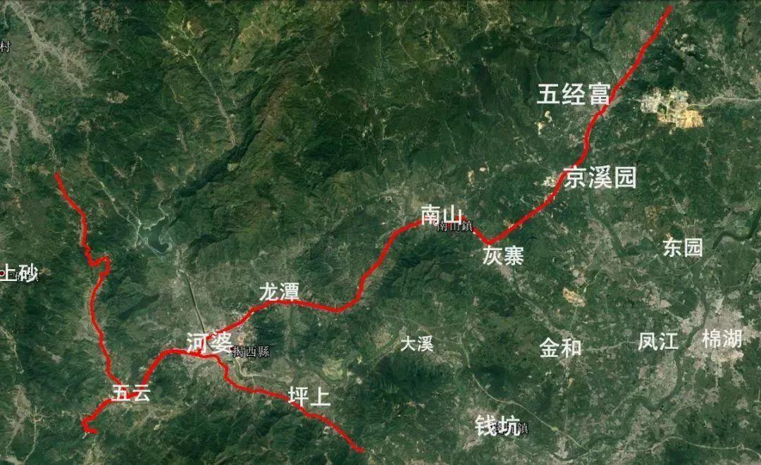 屏南新城区规划图