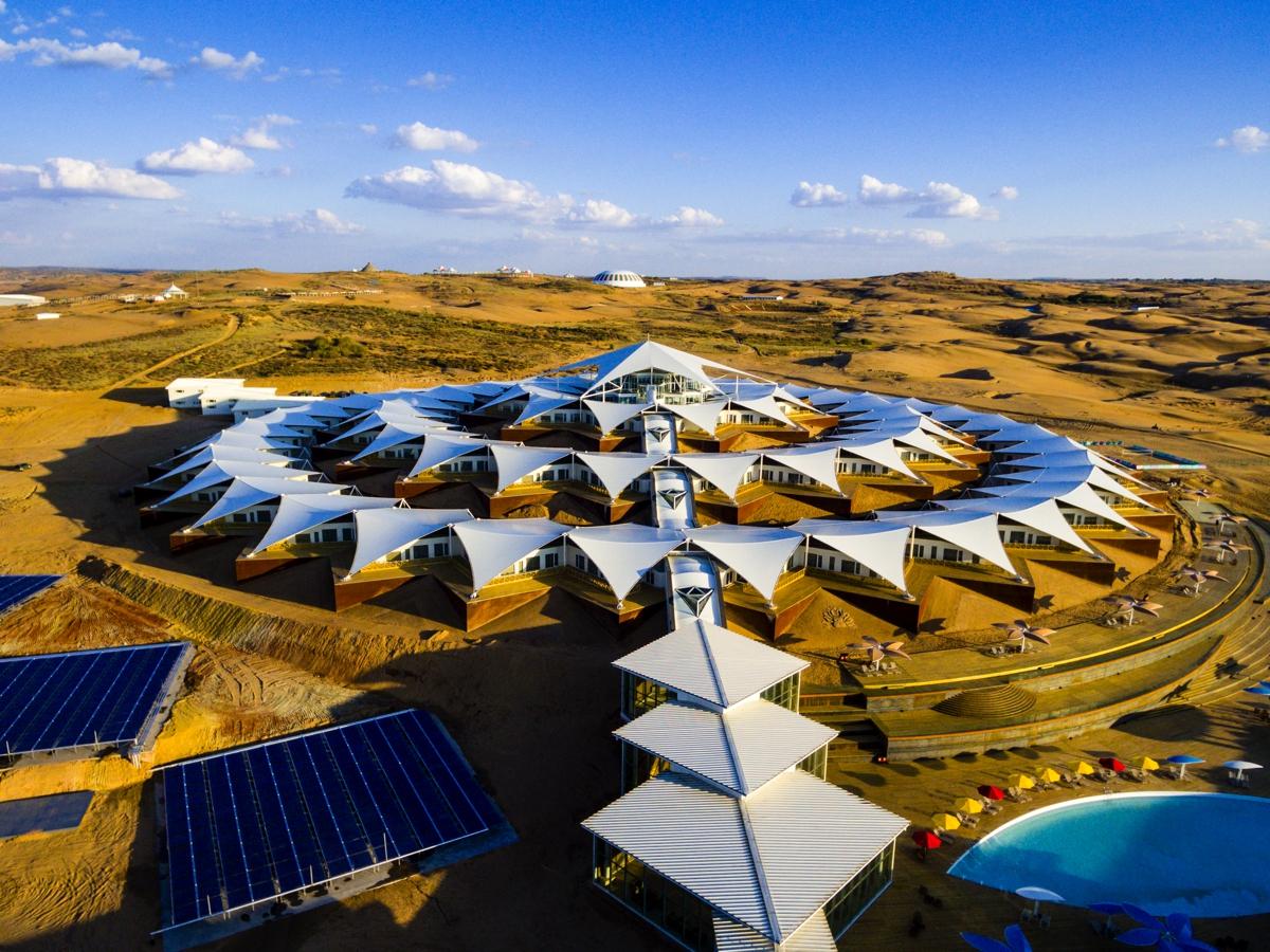 全世界最期待酒店!内蒙沙漠中的这座酒店究竟有何魔力?!