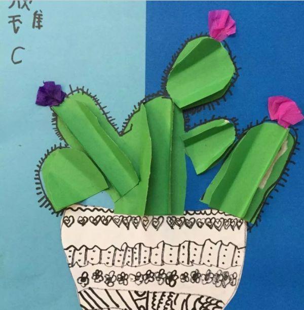 原标题:【亲子手工】旧物利用,孩子最喜欢的手工制作,卡纸仙人掌! 本文导读 出去玩?天气太热了!宅家里能干嘛呢?不如陪孩子做做手工吧, 这不仅是孩子们的专利,大人们也会沉浸在其中。 周末的最佳亲子互动之一--做手工! 很多植物都无法生存在高温的沙漠中,而仙人掌却可以。这一期我们来做一株顽强的仙人掌,它不仅可以为我们的房间添一抹绿色,而且可以当做笔筒哦~一起来学习吧! 作者 丨小莉老师 本文由《幼儿园手工》编辑,转载须注明来源! 仙人掌立体画 仙人掌立体画,非常适合3到8岁的孩子制作,通过制作过程让孩子们