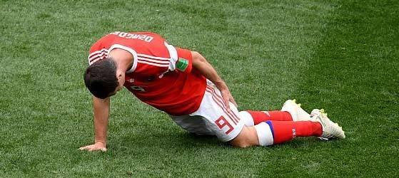 肌肉拉伤_俄罗斯公布扎戈耶夫伤情 大腿拉伤恐告别世界杯