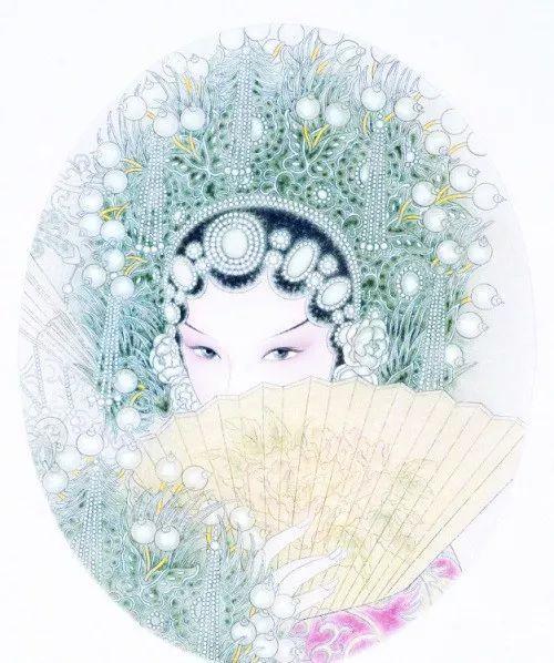 京剧手绘欣赏