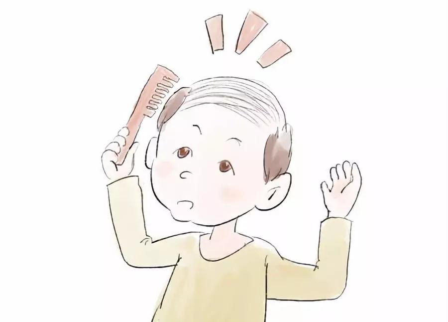 宝宝头发稀少,发黄怎么办?还这么年轻就成地中海了,月子中心监护器图片