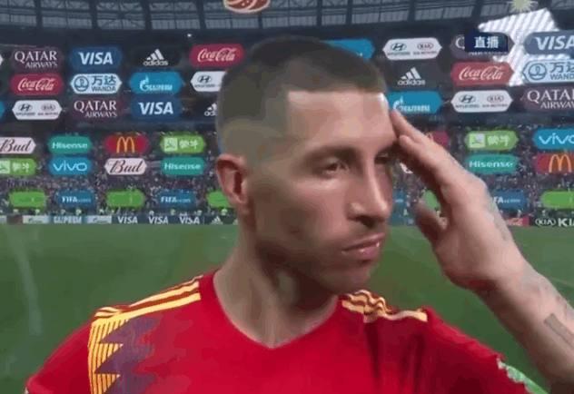 西班牙队点球大战不敌俄罗斯遗憾出局,赛后拉莫斯言论太伤感了