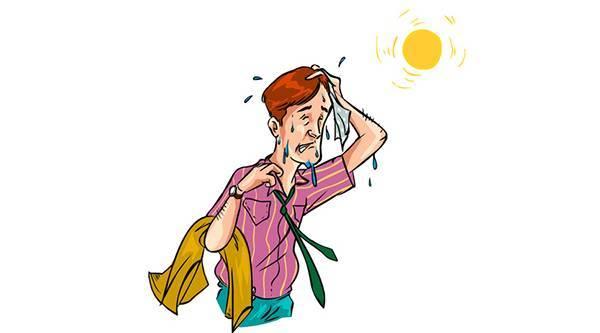 """【健康】大汗淋漓,头晕眼花,可能是跳进了""""中暑""""的圈儿!图片"""