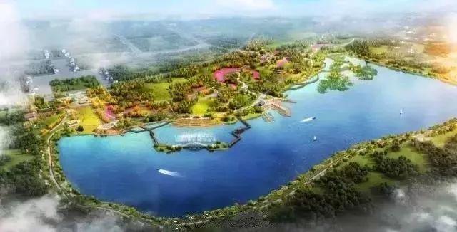 现代汉�z(�X[_旅游 正文  也有汇聚现代元素的旅游产业 @ 陕西西咸新区 昆明池