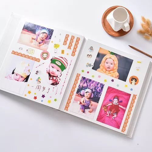 【团购】日本ncl相册diy手工 儿童宝宝成长纪念册图片