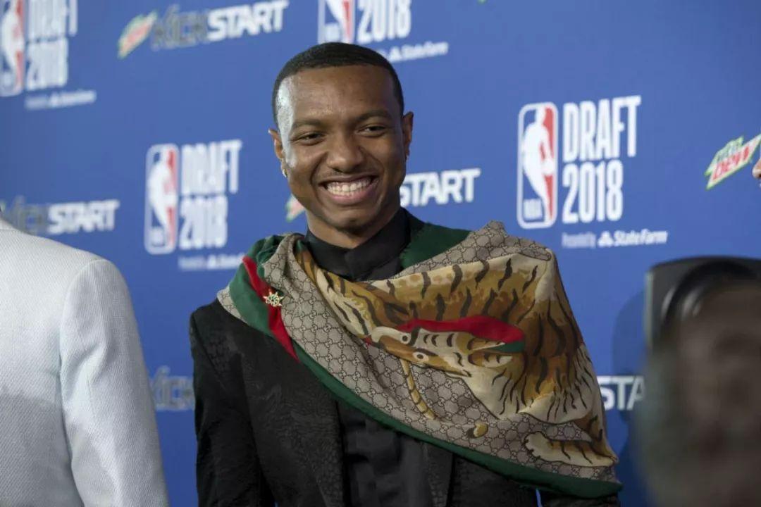2018年NBA选秀大会……硬派男色9宫格!