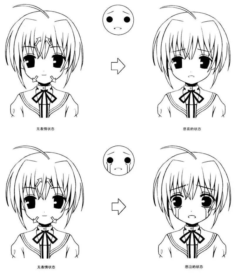 动漫 简笔画 卡通 漫画 手绘 头像 线稿 800_929