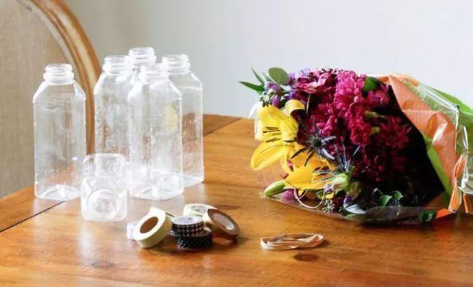 diy陶瓷杯手绘图案花瓶