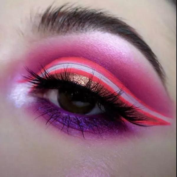 创意眼妆彩妆造型系列图片