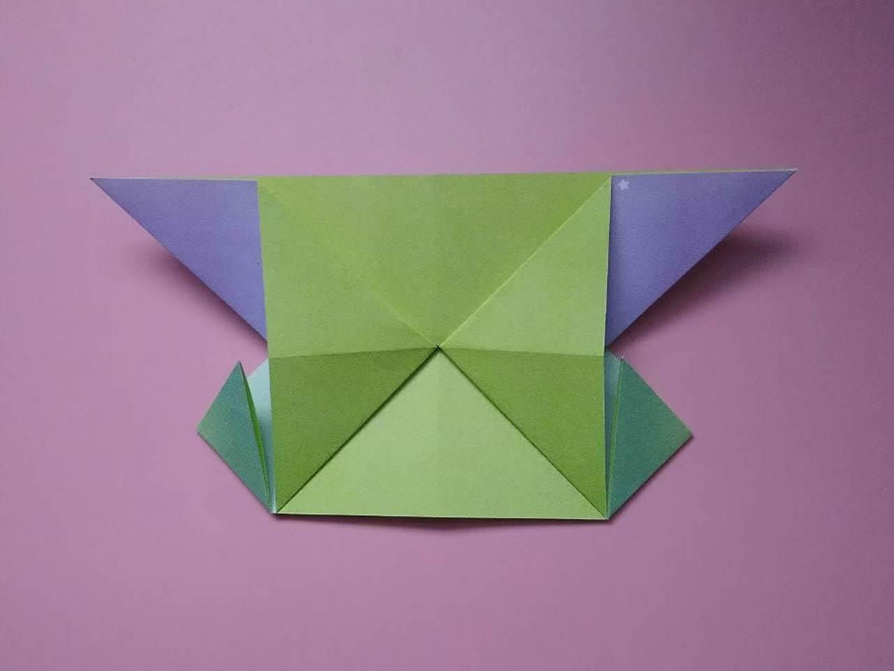 手工纸艺小船折纸步骤图解╭★肉丁网