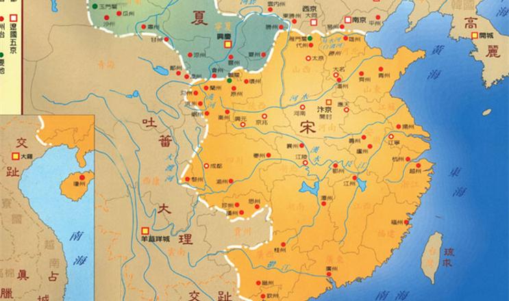 北宋 gdp_北宋地图