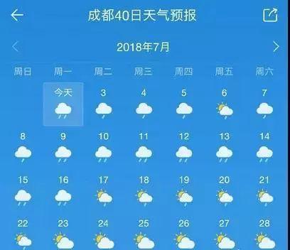 成都+杭州+天气预报15天+