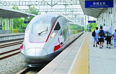 提速后武汉往东去合肥南京上海等城市花费的时间将大幅缩短特别是