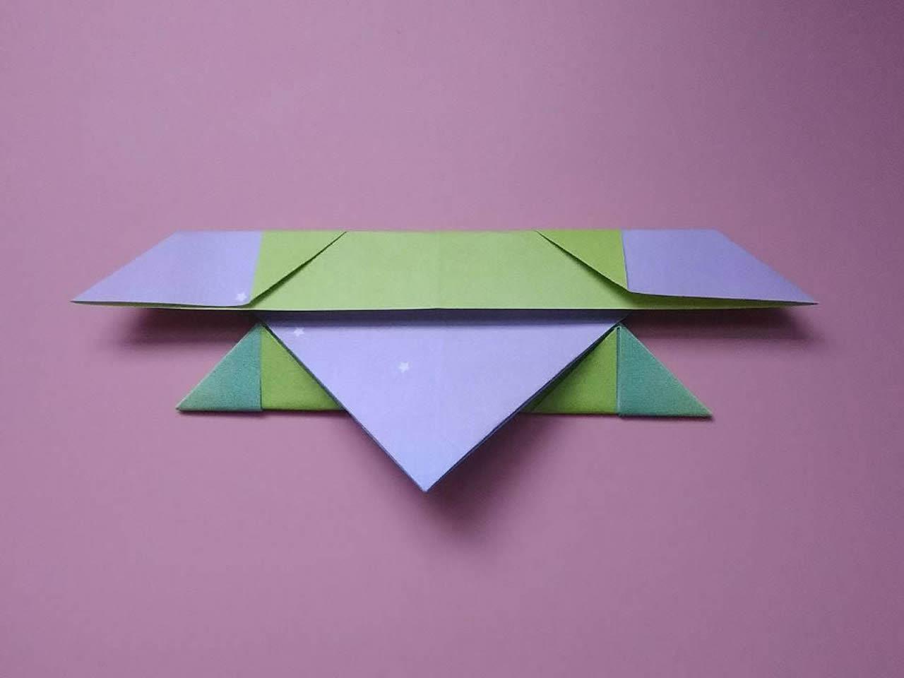 手工纸帆船的折法图解 折纸帆船的方法步骤图_手艺活网