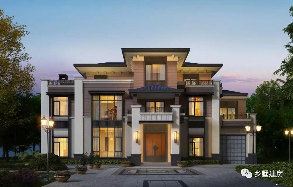 三款造型各异的农村别墅,保证你家房子100年都不会过时!