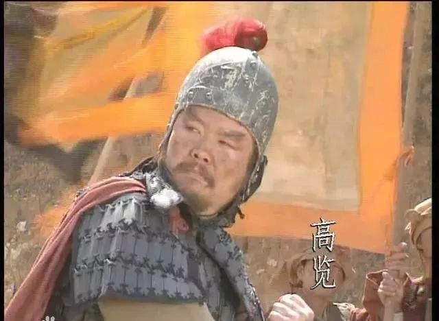 袁绍大将高览一个回合就死在赵云枪下