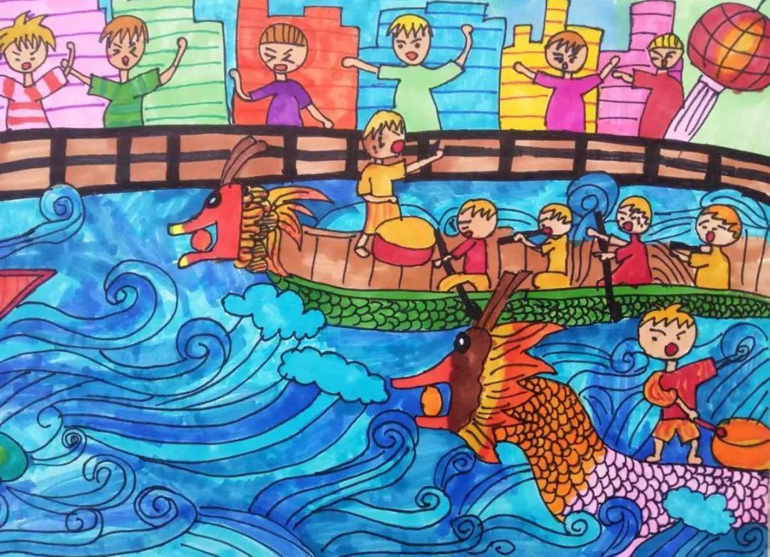 【童画新时代 手绘价值观】龙岩两幅画作入选,给小朋友们点赞!