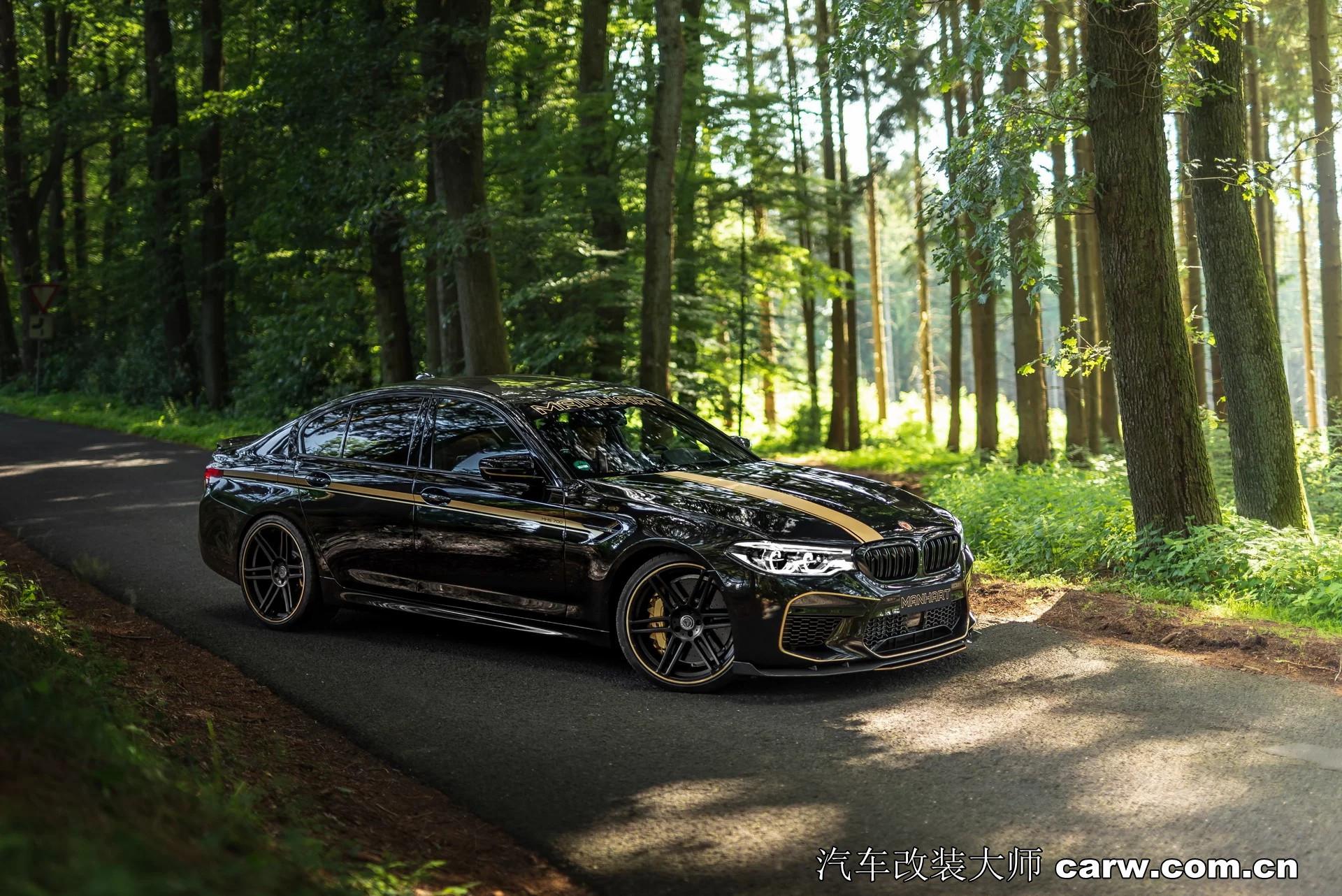 Manhart出手必属精品,看改装BMW M5