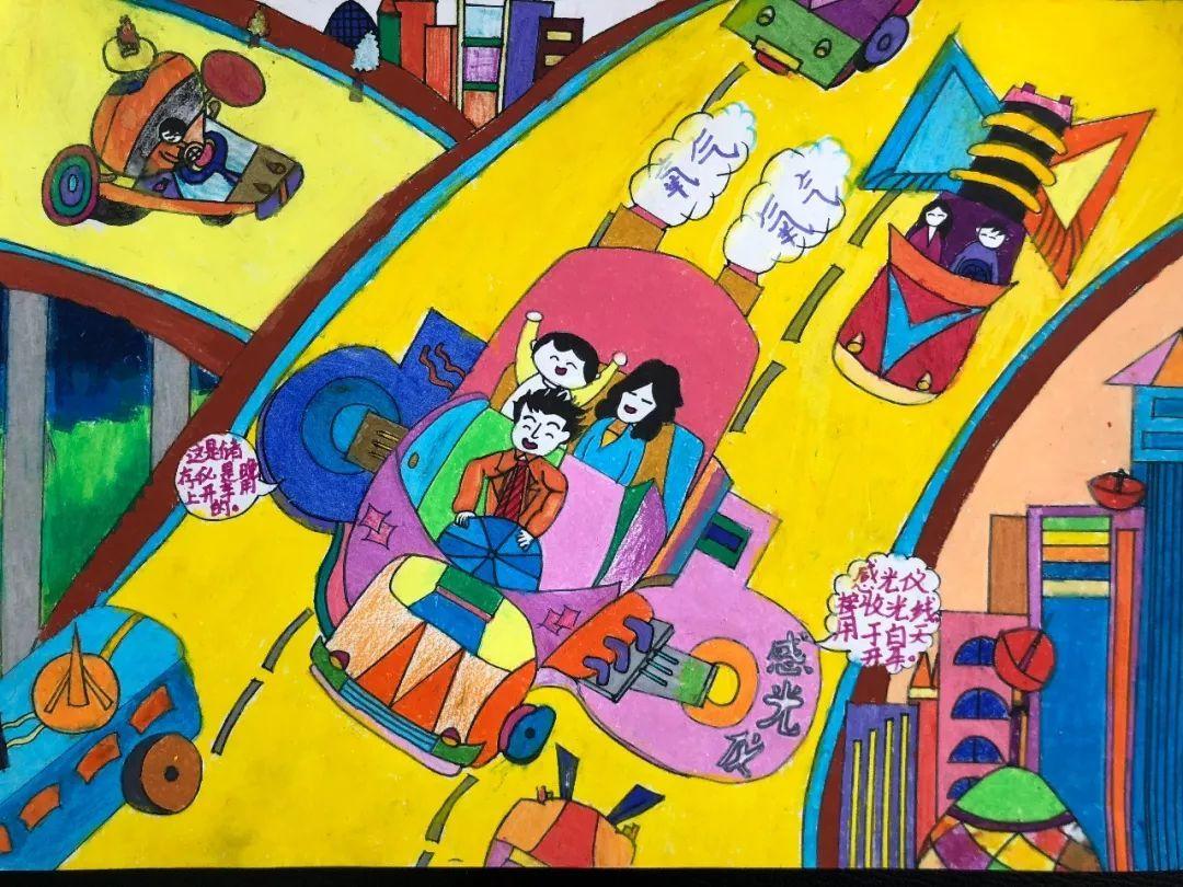 童画新时代,手绘价值观|包头小朋友的作品,快来围观!