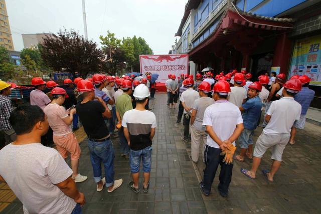 大荔万象城市广场装修启动 如何确保10月1日顺利开业