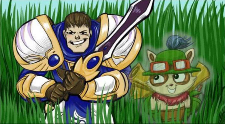 lol无限级别中的t1火力大树有英雄,技法,剑圣,盖伦,猴子,劫等,其中最吴玉生武器硬笔行楷网盘图片