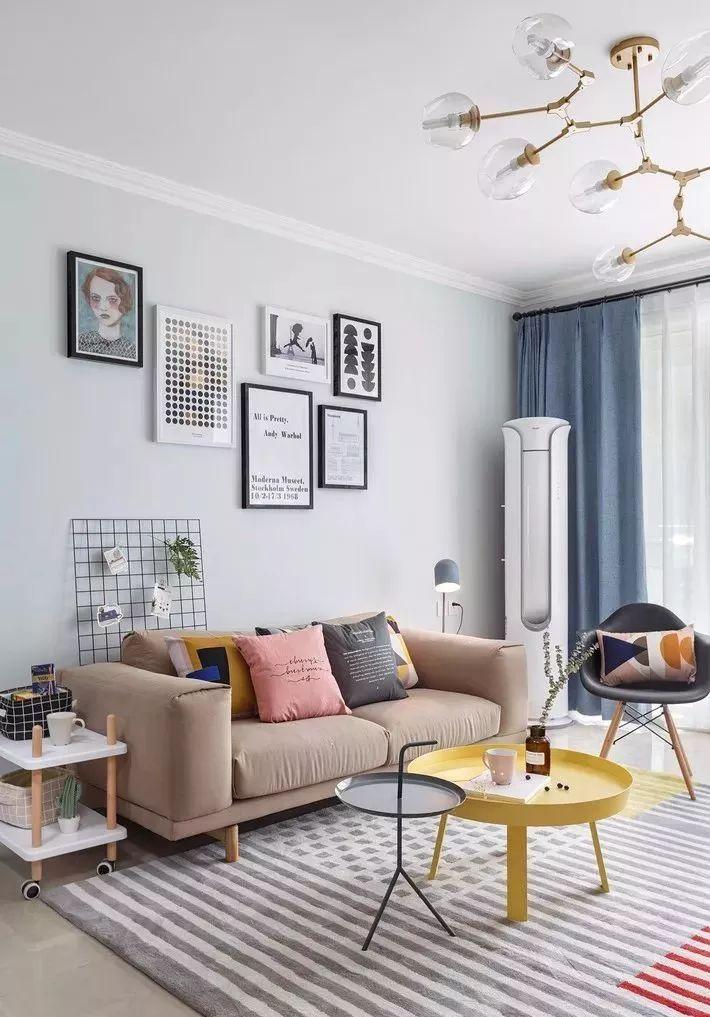 北欧风格客厅正流行,这16个装修效果你喜欢哪一个呢?
