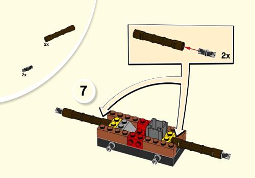 盗匪钻地机,乐高10760拼装图纸,零件可以散买更省钱!
