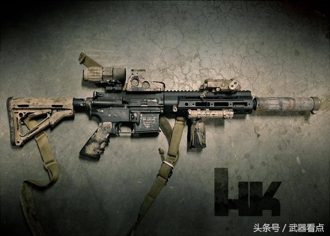 hk416 CAD图纸