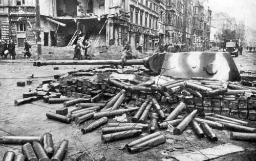 二战纳粹德国投降后 希特勒自杀后,320名女军官醉酒陪葬自尽图片