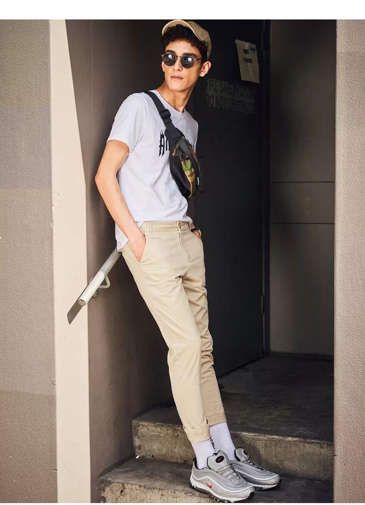 男士夏季不是非要穿短裤才可以的!这几款长裤