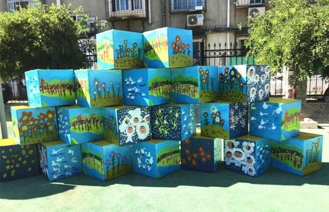 """""""梦想起航 创美生活""""——光华道幼儿园创意美术期末作品展图片"""