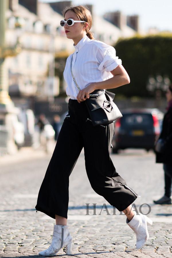 石原里美香港游这样穿?明星型人都爱的黑白配这样穿才好看:最简单才最时髦,今夏有这两种颜色就够了!