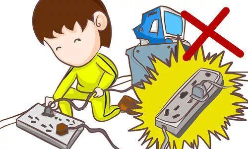 禁止儿童随意使用插座,插头等带电设施,设备.图片
