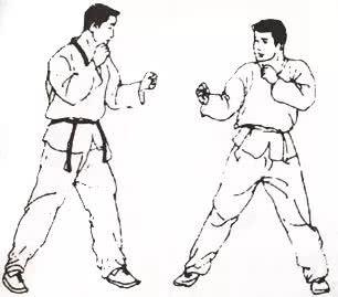 搏击跆拳道双飞踢教学:观赏性最强的击杀动作!图片