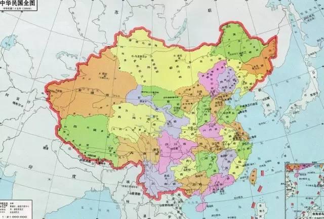 中国那些消失的省份,你知道几个?