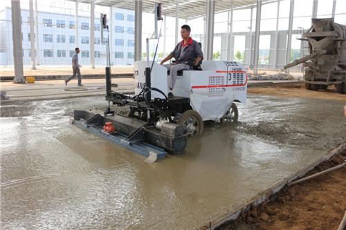 雨季来临-混凝土激光整平机的保养维护方法