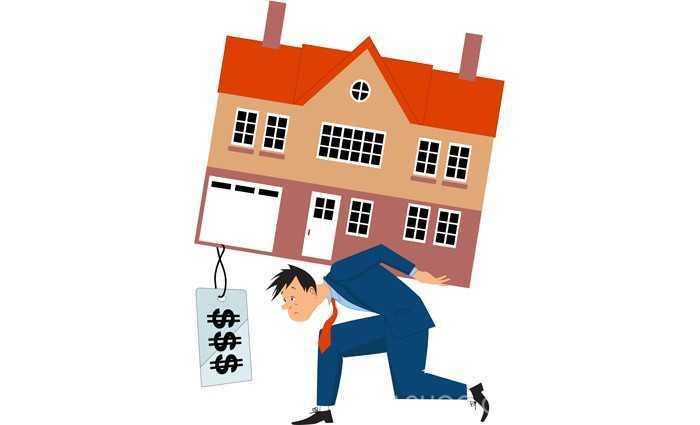 """心累!加国家庭平均近半收入用于养房 温哥华是房市""""老鼠屎"""""""